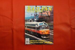 Vintage Railfan & Railroad Magazine November 1981, RR Train Locomotive Interest
