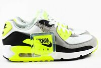 Nike Air Max 90 Mens Size 10 Shoes CD0881 103 Multicolor White Volt