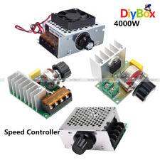 220V 4000W SCR Motor Speed Controller Module Voltage Regulator +Case+Fan Dimmer