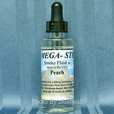 Scented PEACH Smoke Unit Fluid For MTH O27 G O HO N S On30 Gauge Caboose Tank