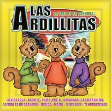 FREE US SHIP. on ANY 2 CDs! NEW CD Las Ardillas: Vida Es Un Carnaval