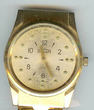 Braille watch USED Gold tone Working