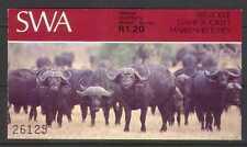 SWA 1996 Buffalo/Animale/12 C DEF bklt 10 V (SB2) (n19971)