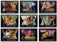 Star Trek Original Series Heroes Villains Kirk's Epic Battles 9 Card Set GB1-GB9