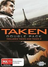 Taken / Taken 2 (DVD, 2013, 2-Disc Set)