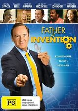 Father Of Invention (DVD) Kevin Spacey / Heather Graham / Johnny Knoxville - New