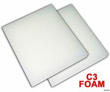 4 Foam Filter Pads For Fluval C3 Filtration Systems