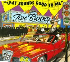 JIVE BUNNY & THE MASTERMIXERS - That sounds good to me 3TR CDM 1990 ROCK 'N ROLL