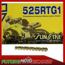 SUNSTAR CATENA ORO PASSO 525 TRIUMPH SPEEDMASTER 800 2003-2004 CHAIN GOLD