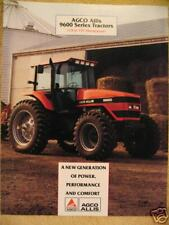 Agco Allis 9630 9650 9670 9690 Tractor Sales Brochure