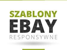 Szablony eBay - responsywne, nowoczesne i indywidualne - szablon aukcji eBay RWD