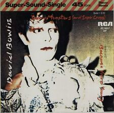 """DAVID BOWIE Scary Monsters 1980 German RCA 12"""" vinyl single EXCELLENT CONDITION"""
