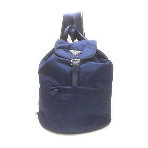 Prada BackPack Bag  Blue Nylon 1535184
