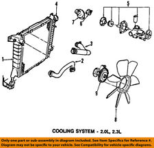 water pumps for ford ranger ebay 1999 Ford Ranger 3 0 Cooling System Diagram ford oem engine water pump 4s4z8501d