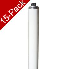 "GE 23075 F60T12/CW/HO 75W 58"" 4100K T12 HO Fluorescent Tube 15-Pack 13469"