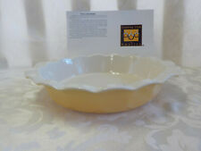 "Casserole Stoneware Baking Dish NEW 2009 Yellow 11.75"" X 11"" Oven Microwave More"