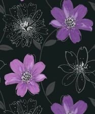 Arthouse Floral Vinyl Coated Wallpaper Rolls & Sheets