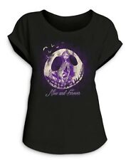 Disney Jack Skellington  Sally ''Now and Forever'' T-Shirt Limited Release Wm XL