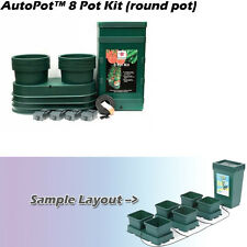 AutoPot Hydrotrays 8 Pot Auto Feed Hydroponic or Soil Plant Fruit Vegetable Grow