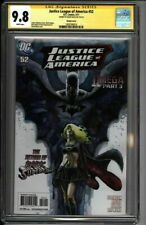 * Justice LEAGUE of AMERICA #52 (2011) Variant CGC 9.8 SS Mack (1600184014) *