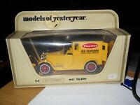 1986 Matchbox Models of Yesteryear Y-5 1927 TALBOT Taystee Bread Logo's Mint