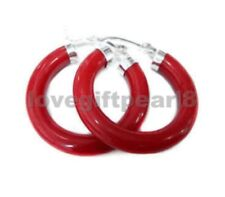 New Arrived Design Unusual Red Sea Coral Earring