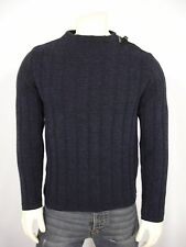 THE FREDERIC HOMS OWNWEAR WOOL BLEND CREW NECK LONG SLEEVE SWEATER MEN'S M