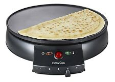 Breville VTP130 Traditional Maker for Cooking Crepes Pancakes  Omelettes Blinis