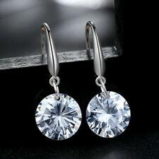 925 Sterling Silver Small Ear Hook Earrings Crystal Drop Earrings Gift Jewellery