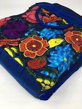 Guatemala Handmade Multicolor Floral Boho Hippie Shoulder Bag Crossbody F044