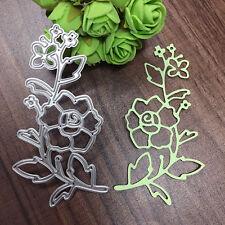 Flower Vine DIY Paper Template Manual Die Cut&Embossing Machines Cutting Tool