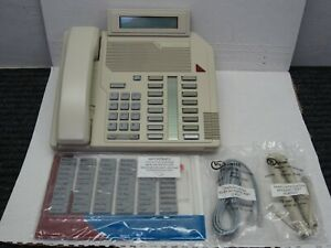 Nortel Meridian M2616 Aries II Display Ash Phone (NT2K16, NT9K16)(18 In-Stock)