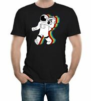 Funky Spaceman Men's T-Shirt - GIFT SPACE NASA MOON PLANETS FUNNY JOKE PRESENT