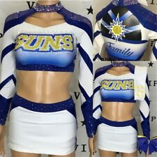 Real Cheerleading Uniform Allstar Suns Adult XS