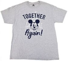 New Disney Parks Mickey Mouse & Castle Together Again Reopening T-Shirt M-2XL