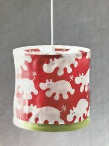 NEW Kaxig Ikea Hippopotamus Nursery Kids Baby Hippo Hang Light Fixture Pendant