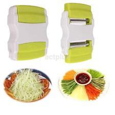 Good Vegetable Potato Carrot Fruit Twister Cutter Slicer Peeler Kitchen Tool US