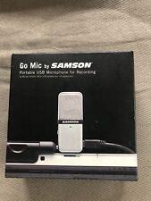 Go Mic by Samson, Portable USB Recording