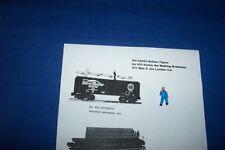 Americn Flyer Parts - PA13A445 Smitty the Walking Brakeman -Dark Blue #3