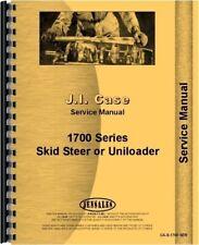 Case 1700 1737 1740 Uniloader Service Repair Manual