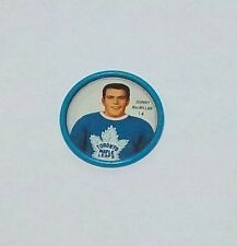 Shirriff  coins hockey 1962-63 # 14 Johnny MacMillan   Toronto Maple Leafs
