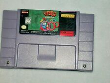1996 Izzy's Quest For The Olympic Rings Super Nintendo Game Olympic License