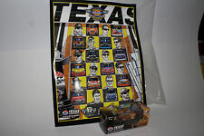 2008 Texas Speedway Nascar Program with 1:64 Diecast Car