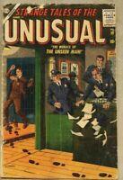 Strange Tales Of The Unusual #10-1957 gd- 1.8 Marvel Atlas Horror John Severin