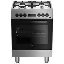 BEKO Cucina Elettrica FSE62110DXF 4 Fuochi a Gas Forno Elettrico Multifunzione C
