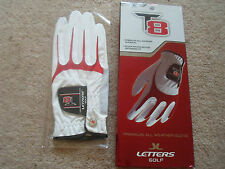 ONE  John Letters T8 Premium All Weather Golf Glove Mens ML Reg Right