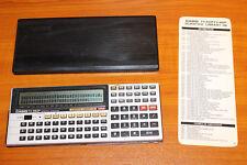 """CALCULADORA """"CASIO FX-880P"""" PERSONAL COMPUTER #3"""