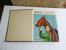 lot 3 anciennes revues Réalités avec numéro spécial sur la Chine reliées 1956