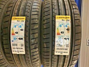 New Car Tyres Dunlop Sport Maxx GT 225/35/19 225 35 ZR19 Runflat ROF* 225 35 19