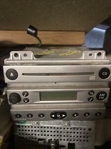 Ford fiesta cd player silver 4500 cd radio ice audio 2002 - 2005 mk 6 mk6